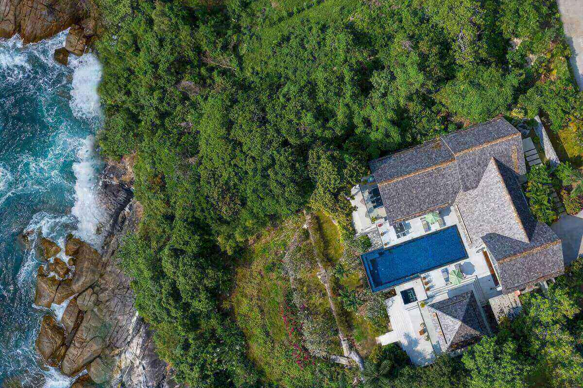 5 Bedroom Oceanfront Luxury Pool Villa Lomchoy for Sale at Samsara on Kamala Headland, Phuket