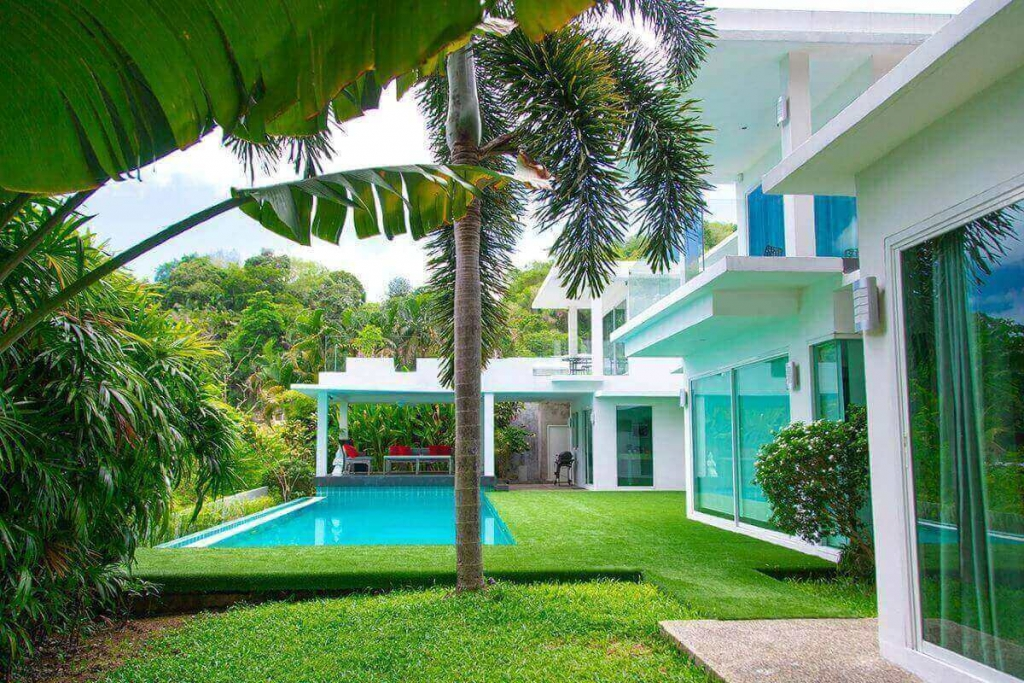 4 Bedroom Sea View Modern Pool Villa for Sale near Kata Beach, Phuket