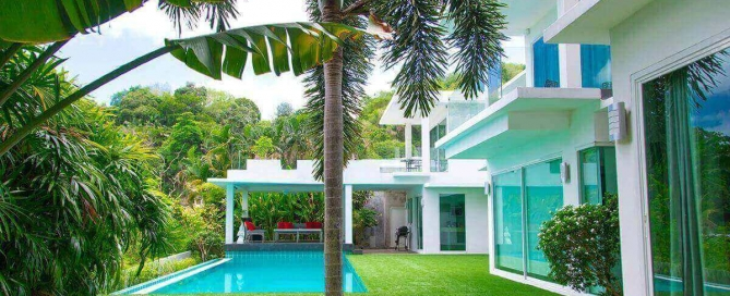 4 Bedroom Sea View Modern Pool Villa for Sale near Kata Beach, Phuket
