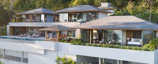 3-7 Bedroom Ultra-Luxury Sea View Pool Villa for Sale near Layan Beach, Phuket