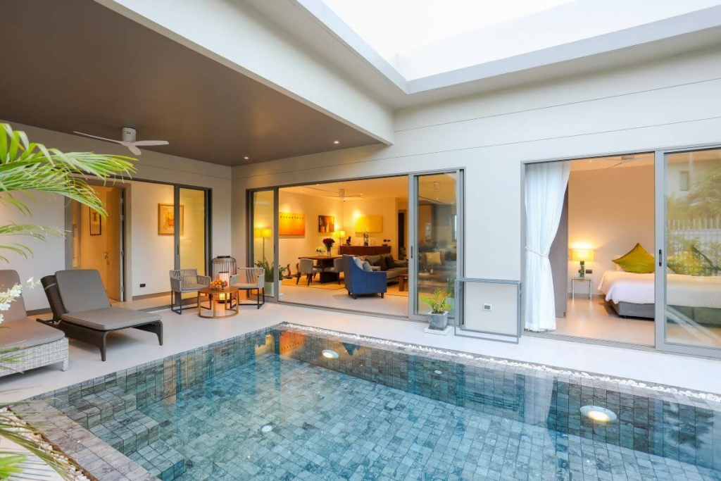 3 Bedroom Stand-Alone Non-Estate Pool Villa for Sale by the Owner near Boat Avenue in Cherng Talay, Phuket