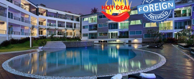 2 Bedroom Foreign Freehold Condo for Sale by Owner at Karon Butterfly near Karon Beach, Phuket