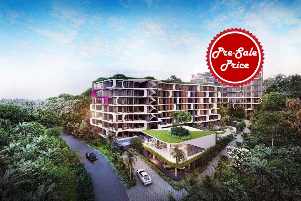 1 Bedroom Condo for Sale near Bang Tao Beach & Layan Beach Phuket