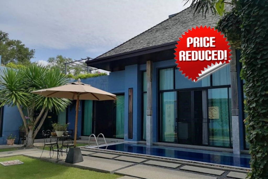 2 Bedroom Pool Villa for Sale by the Owner at Wings in Cherng Talay, Phuket