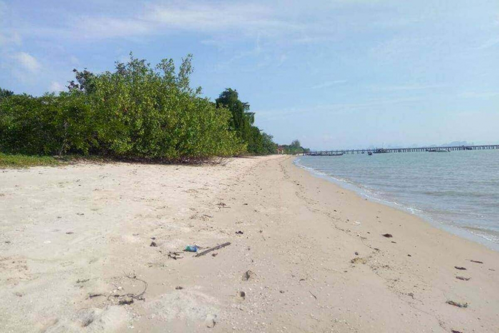 14 Rai (22,400 sqm) Absolute Beachfront Land for Sale in Koh Yao Yai, Phang Nga Bay, Thailand