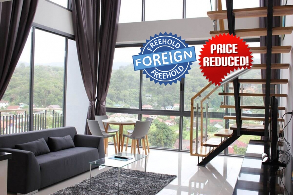 2 Bedroom Foreign Freehold Duplex Penthouse Condo for Sale at Icon Park near Kamala Beach, Phuket