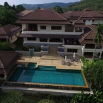 5 Bedroom Hilltop Pool Villa for Rent Ovelooking Laguna in Cherng Talay, Phuket