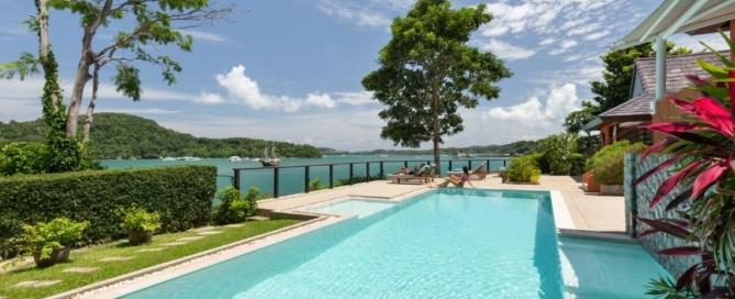 5 Bedroom Oceanfront Pool Villa with Direct Ocean Access for Sale at Panwa Peninsula, Phuket