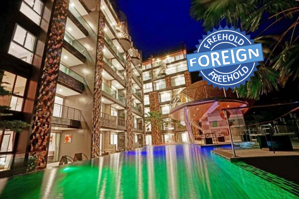 1 Bedroom Foreign Freehold Resort Condo for Sale by Owner at Emerald Terrace near Patong Beach, Phuket