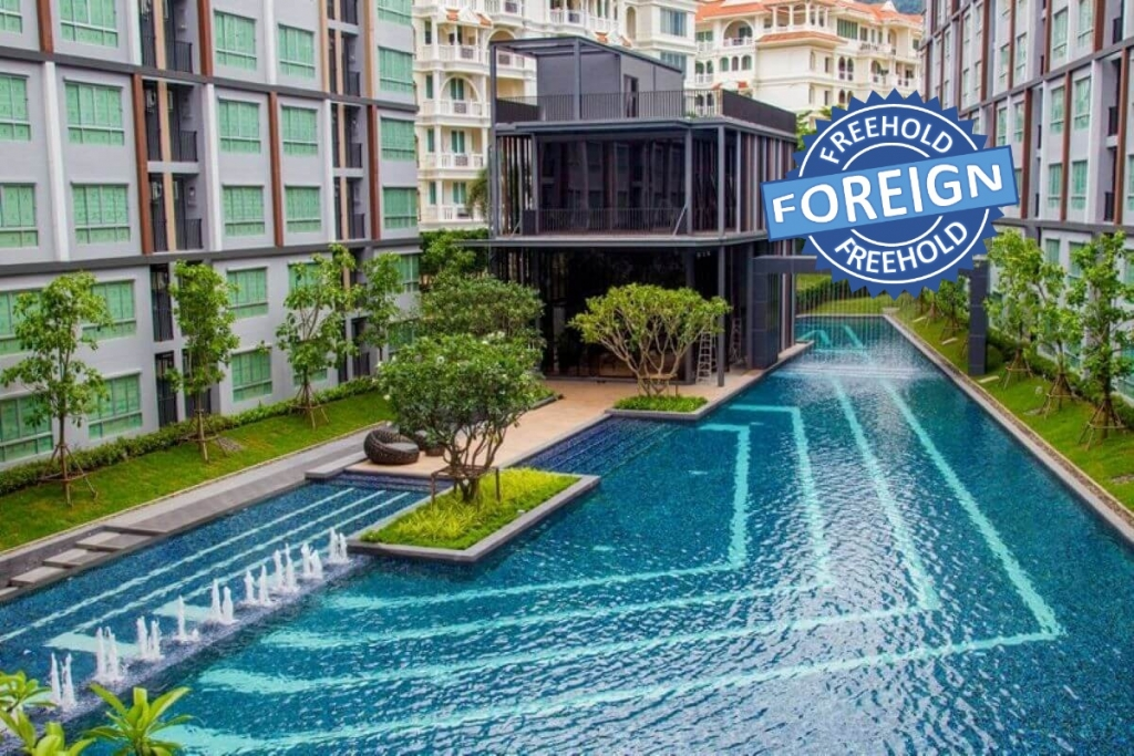 1 Bedroom Foreign Freehold Condo for Sale by Owner at DCondon Mine in Kathu, Phuket