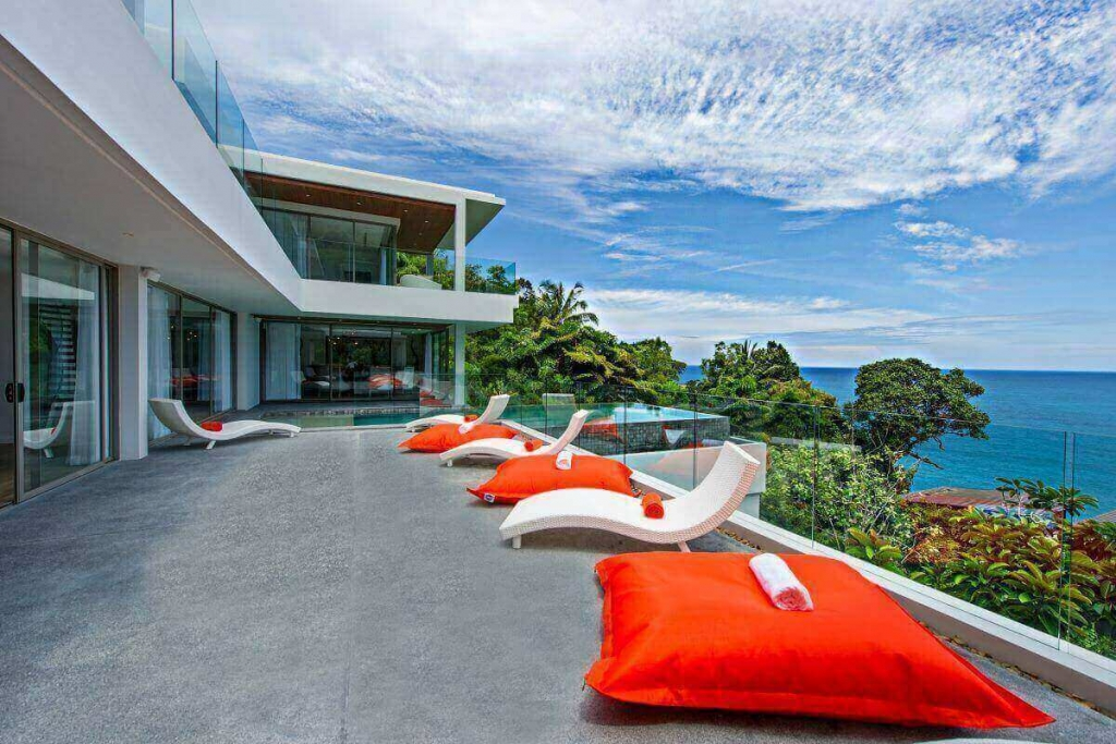 6 Bedroom Oceanfront Luxury Pool Villa for Sale at Cape Amarin Kamala Headland Phuket