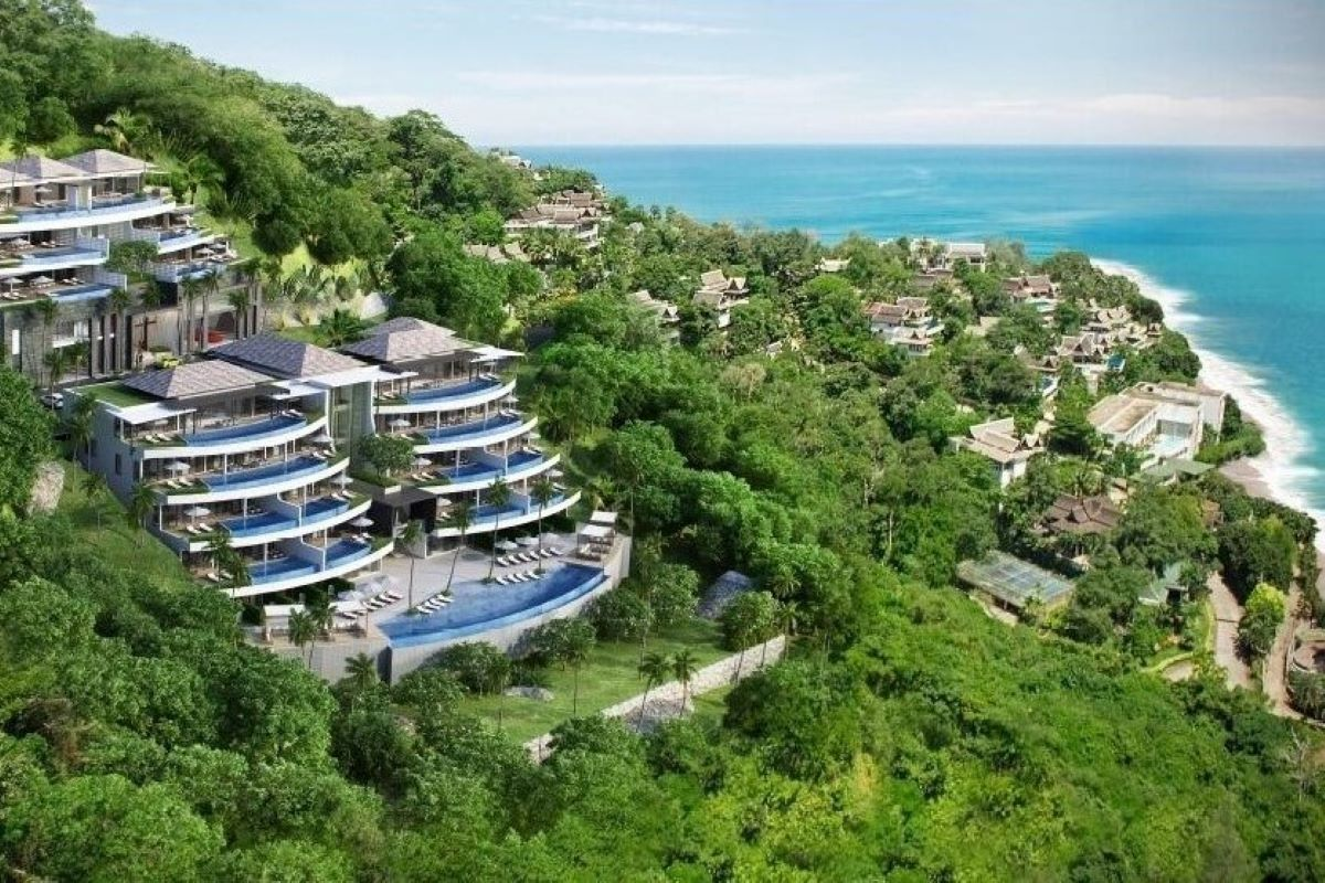 5 Bedroom Sea View Luxury Penthouse Condo for Sale near Surin Beach, Phuket