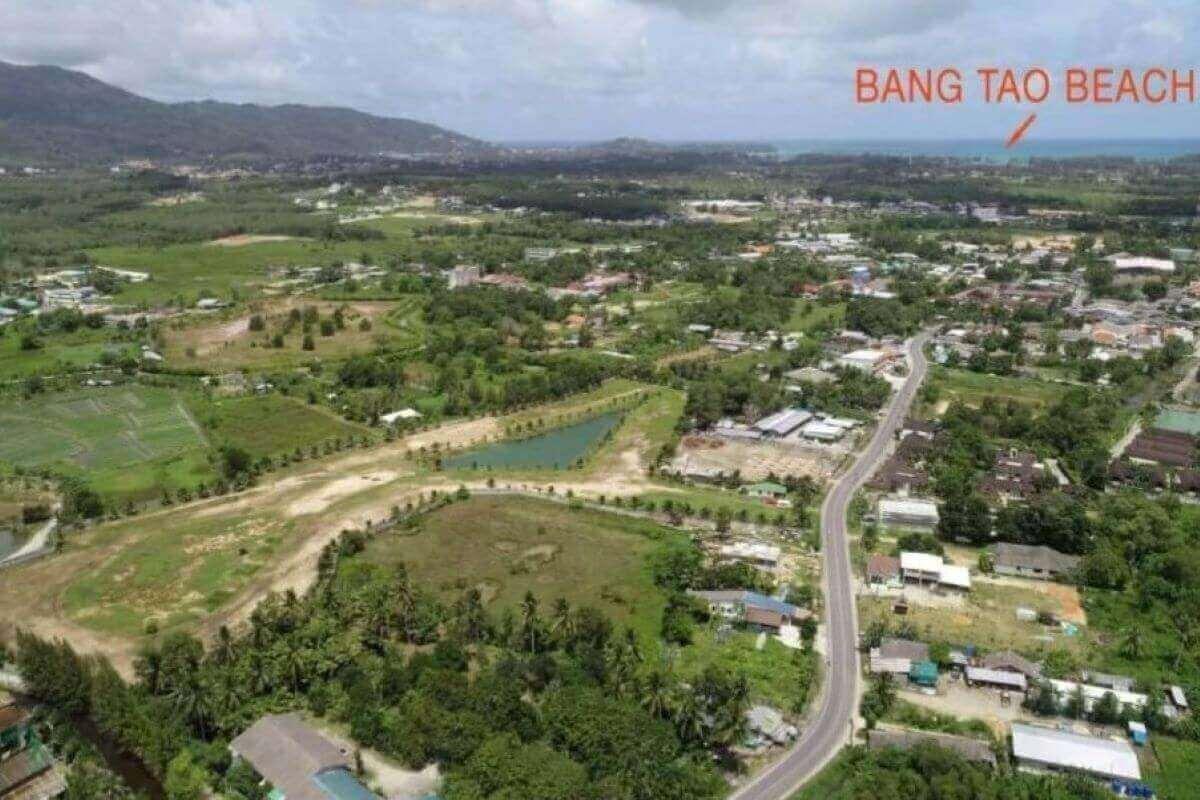 20 Rai or 32,000 sqm Land for Sale in Thalang, Phuket