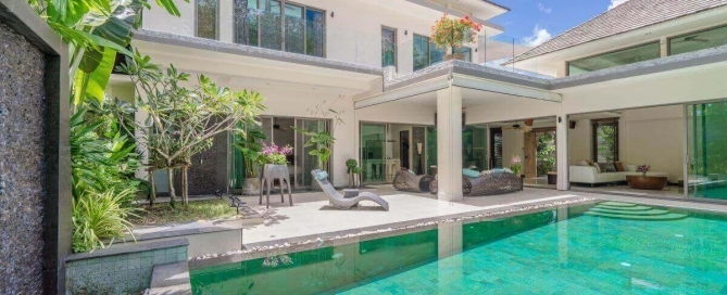 3 Bedroom Modern Pool Villa for Sale near Blue Tree in Cherng Talay, Phuket