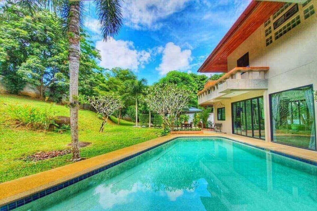3 Bedroom Pool Villa on Nearly 2,000 sqm Plot for Sale near Nai Harn Beach, Phuket