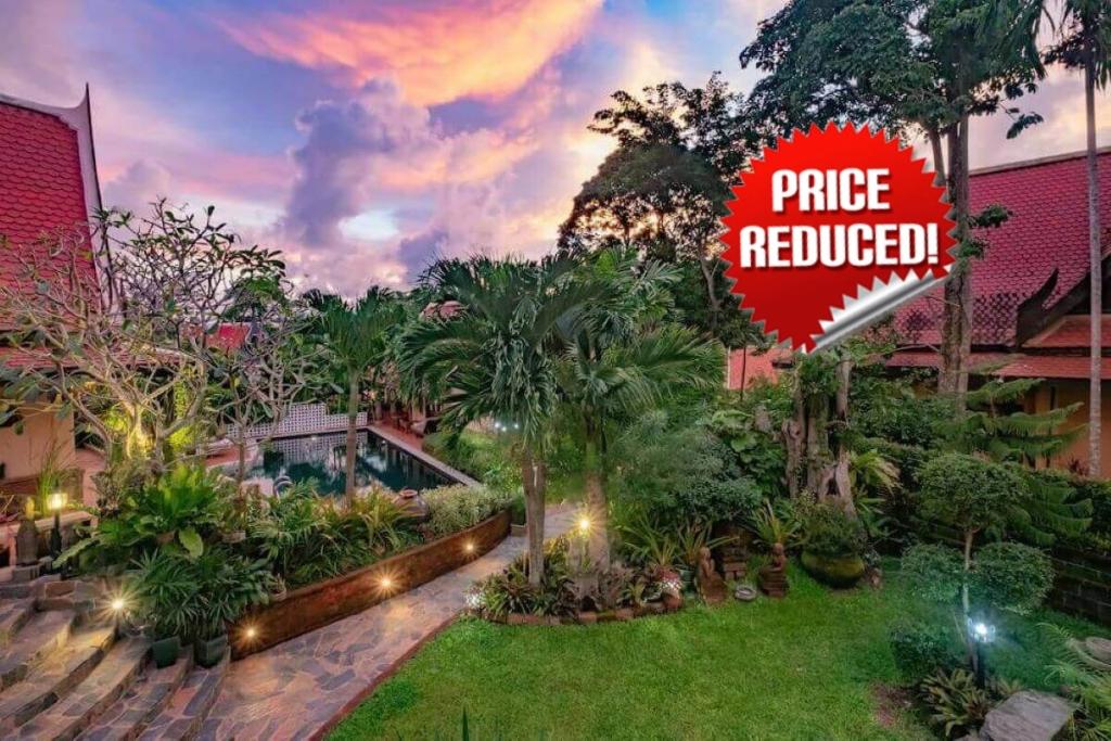 6 Bedroom Sea View Luxury Pool Villa for Sale by Owner at Nakathani near Kamala Beach, Phuket