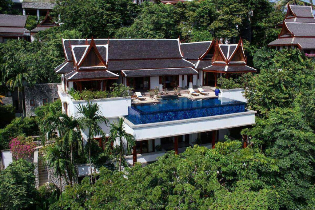 6 Bedroom Sea View Luxury Pool Villa with Private Lift for Sale at Ayara near Surin Beach, Phuket