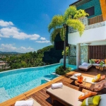4 Bedroom Sea View Luxury Hillside Pool Villa for Sale in Bang Tao, Phuket