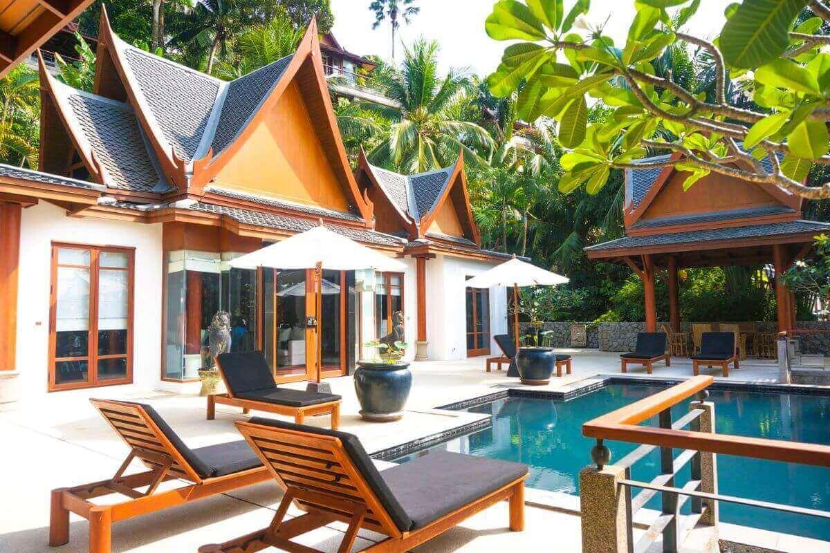 4 Bedroom Sea View Thai-Style Luxury Pool Villa for Sale at Ayara near Surin Beach, Phuket