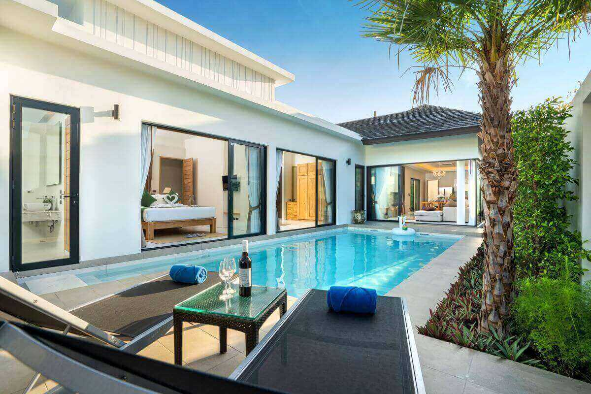 3 Bedroom Fully Furnished Pool Villa for Sale near Laguna in Cherng Talay, Phuket