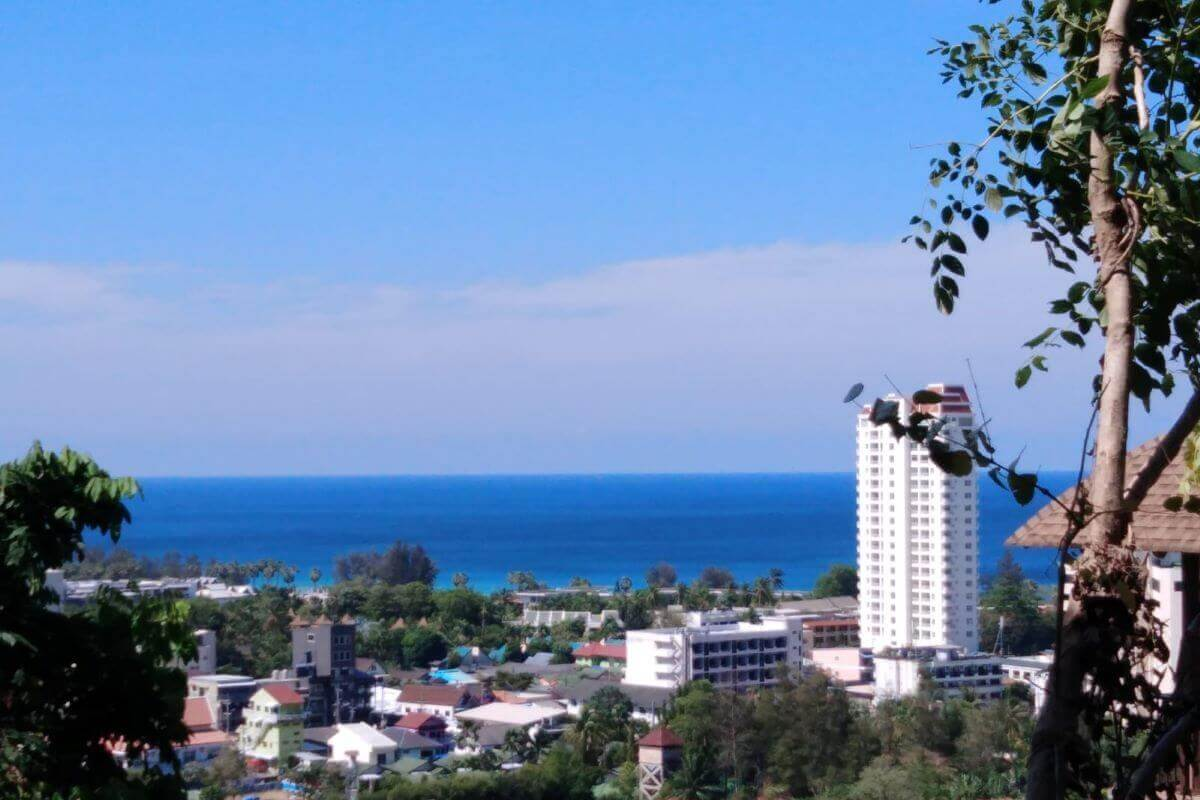 4 Rai or 6400 sqm sea view hillside land for sale by owner near Karon Beach Phuket