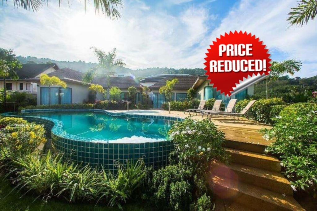 9 Bedrooms Within a Complex of 3 Pool Villas Resort for Sale near Nai Harn Beach, Phuket