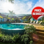 9 Bedrooms Within a Compound of 3 Bedroom Pool Villas Resort for Sale near Nai Harn Beach, Phuket