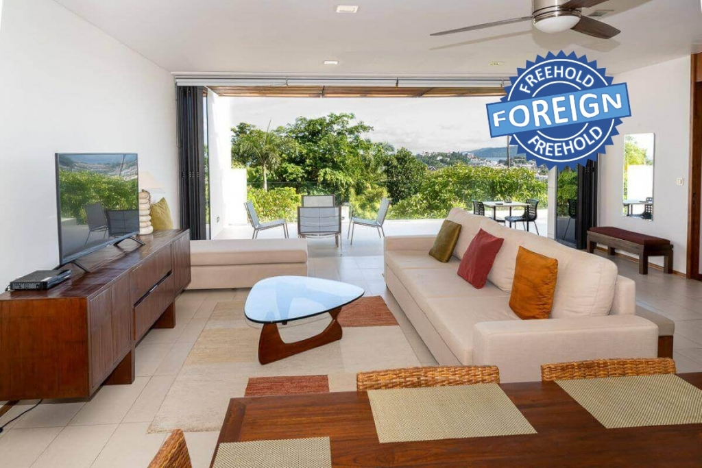 2 Bedroom Sea View Foreign Freehold Condo for Sale at The Heights near Kata Beach, Phuket