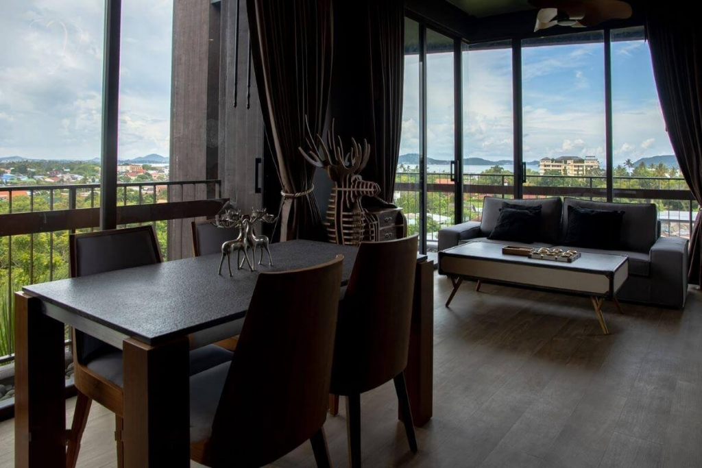 2 Bedroom Sea View Fully Furnished Corner Condo for Sale at Saturdays in Rawai, Phuket