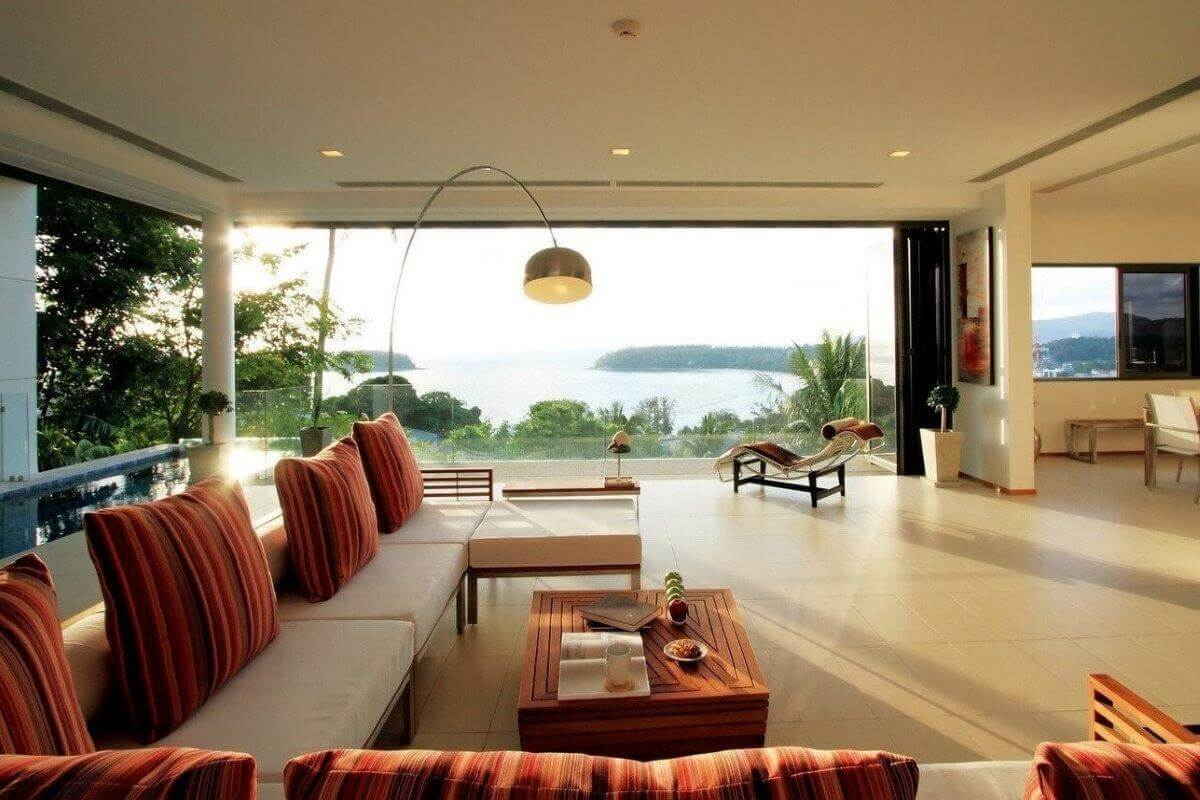 3 Bedroom Sea View Penthouse Condo with Private Pool for Sale at The Heights near Kata Beach, Phuket