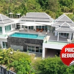 4 Bedroom Sea View Hillside Pool Villa for Sale by Owner near Kamala Beach, Phuket