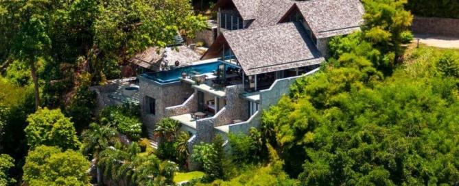 4 Bedroom Luxury Oceanfront Pool Villa for Sale at Millionaire's Mile, Kamala Headland, Phuket