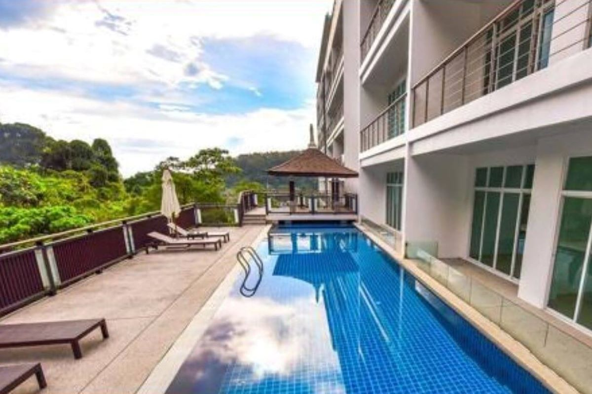 2 Bedroom Foreign Freehold Condo with Private Pool for Sale at Kamala Falls near Kamala Beach, Phuket
