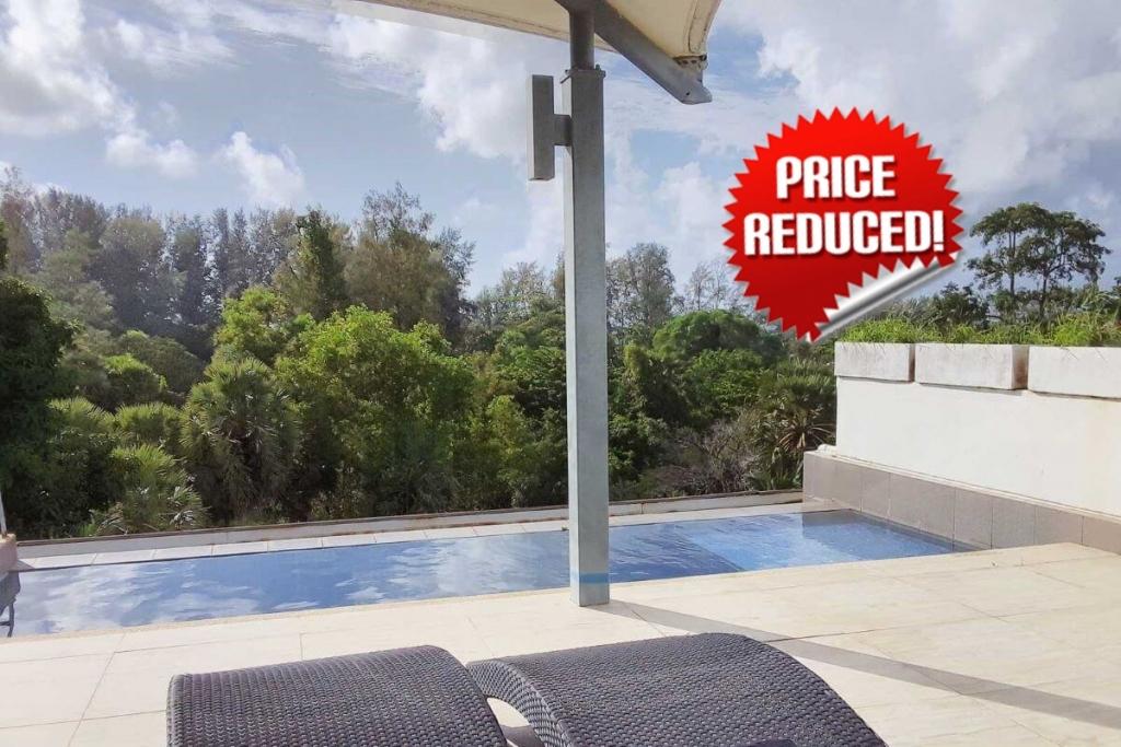 2 Bedroom Penthouse Condo with Private Pool at Casuarina Shores Walk to Bang Tao Beach, Phuket
