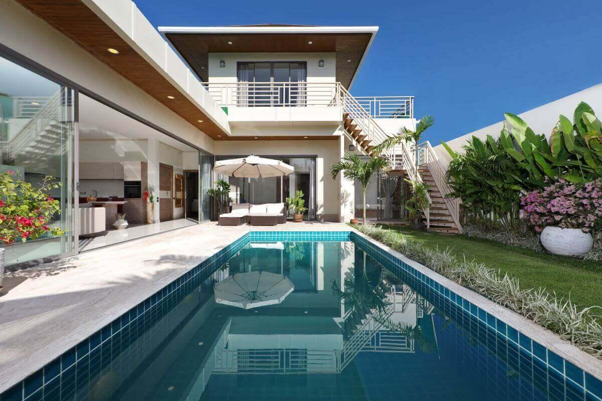 4 Bedroom Brand New Modern Pool Villa for Sale near Rawai Beach, Phuket