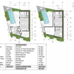 4 Bedroom Brand New Pool Villa for Sale near Rawai Beach Phuket Floorplan