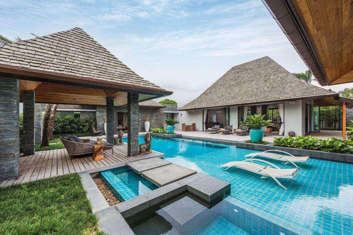 "4 Bedroom ""Smart Home"" Luxury Pool Villa for Sale near Laguna in Cherng Talay, Phuket"