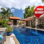 5 Bedroom Pool Villa near Laguna & Bang Tao Beach for Sale at Sai Taan in Bang Tao, Phuket