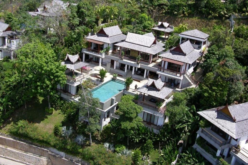 6 Bedroom Panoramic Sea View Luxury Pool Villa for Sale at Ayara near Surin Beach, Phuket