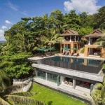 8 Bedroom Luxury Pool Villa with Direct Ocean Access for Sale by Owner Walk to Kata Beach, Phuket