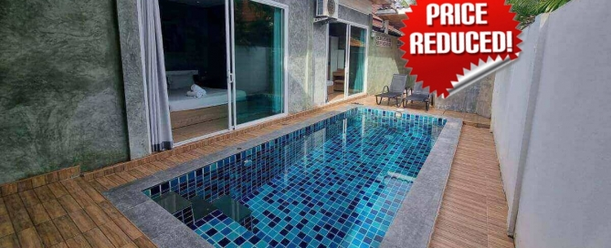3 Bedroom Affordable House with Private Pool for Sale by Owner in Soi Pattana, Rawai, Phuket
