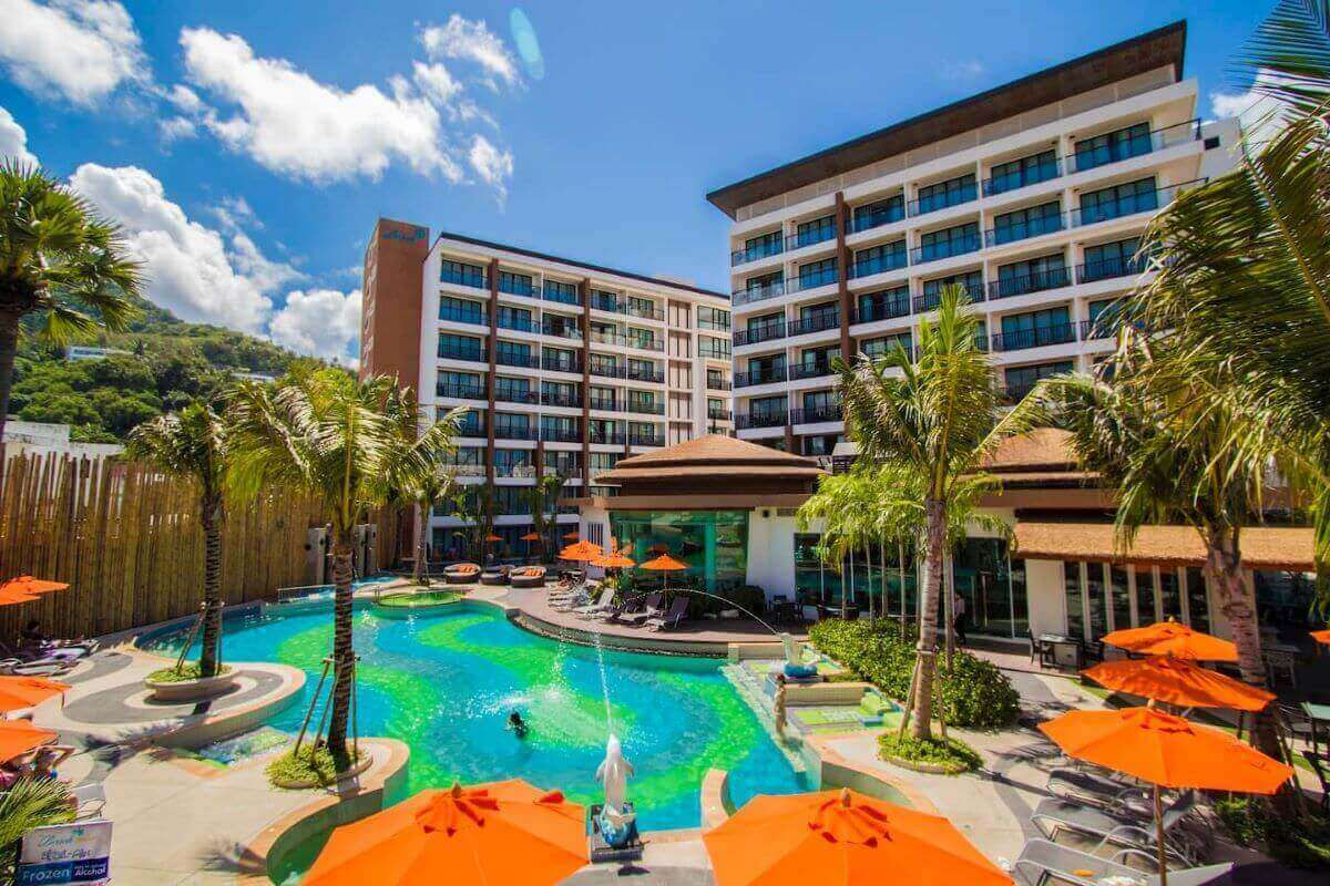 Studio Investment Hotel Room for Sale by Owner at The Beach Condotel near Kata Beach, Phuket